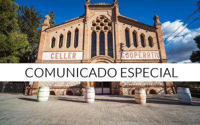COMUNICADO ESPECIAL