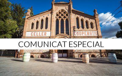 COMUNICAT ESPECIAL